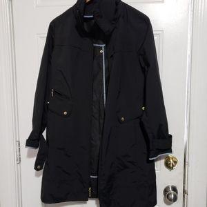 Cole Haan light weight spring jacket black